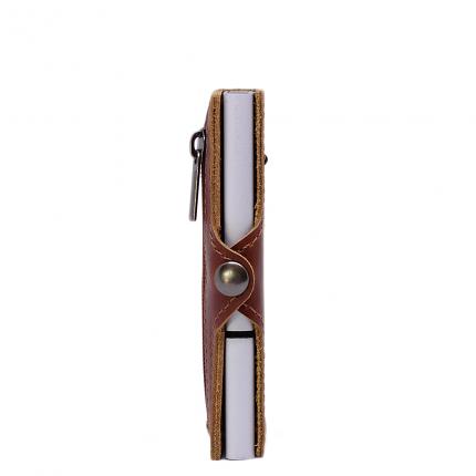Exentri Wallet Hazelnut (RFID Safe)