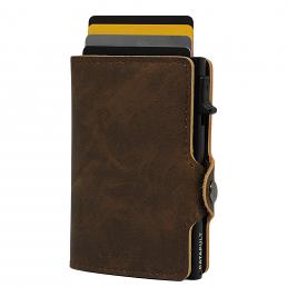 Catapult plånbok brun/svart RFID säker korthållare